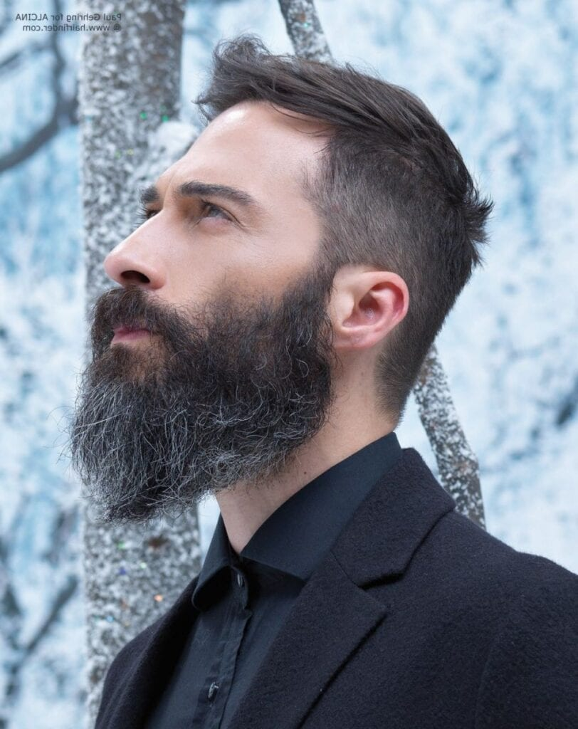 Enjoyable Full Beard Styles And Tips On Growing And Styling Full Beard Hairstyles For Men Maxibearus