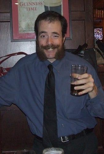 handlebar-mustache Mutton Chops Beard Styles-15 Best Looks with Mutton Chop Beards