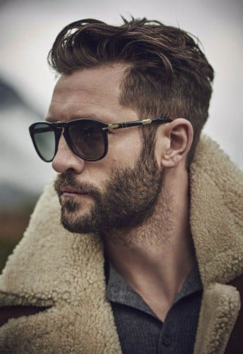 naturaloutline-1 Facial Hair Styles-30 Best Beard Styles 2018 with Names and Pictures