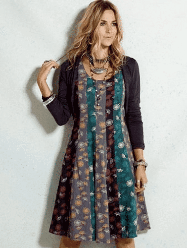 nomads_patchwork_dress4 Patchwork Outfits-21 Ways to Wear Patchwork Outfits this Year