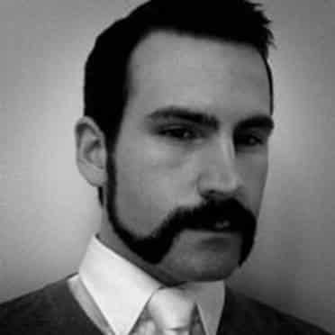 thin-strap-look Mutton Chops Beard Styles-15 Best Looks with Mutton Chop Beards