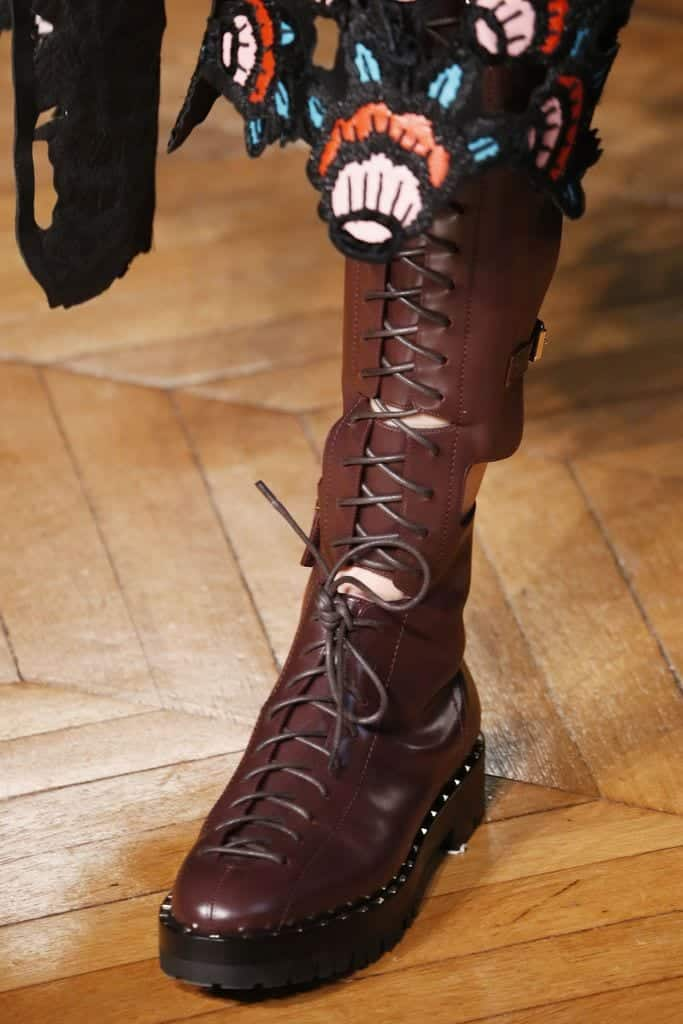 valentino-combat-boots Outfits with Combat Boots- 22 Ideas How to Wear Combat Shoes