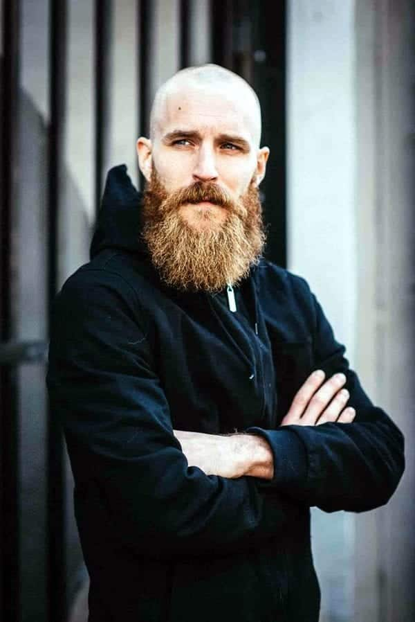 withbaldhead Facial Hair Styles-30 Best Beard Styles 2018 with Names and Pictures