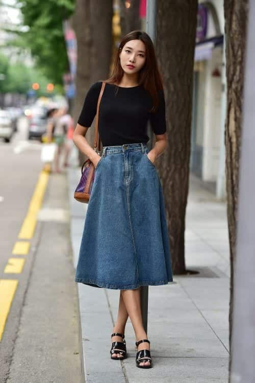 Denim-Two-Piece-Dress-II Casual Outfits for Women - 23 Cute Dresses for Casual Look