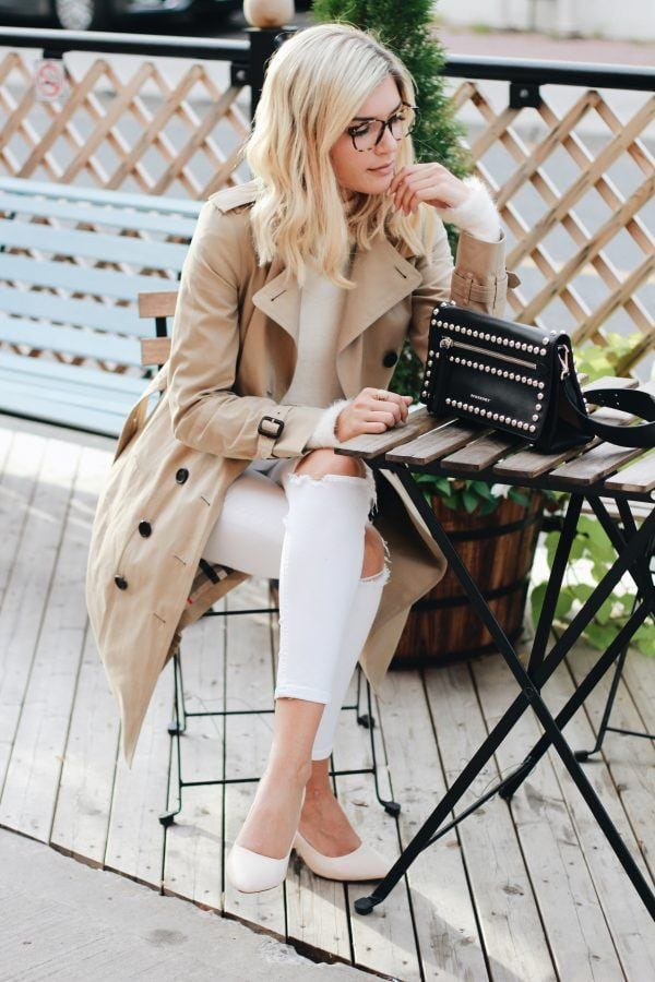 Trench Coat Outfits Women-19 Ways to Wear Trench Coats this Winter (12)