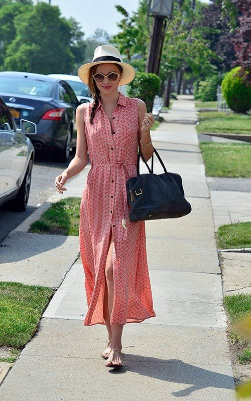 Pink-Long-Dress Casual Outfits for Women - 23 Cute Dresses for Casual Look