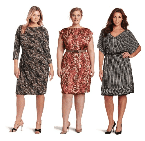 Plus-Size-Holiday-Dresses-By-Anne-Klein 2017 Christmas Outfits for Plus size women - 23 Party Wear