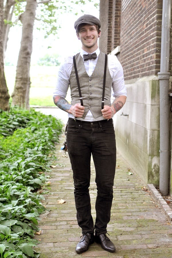 bowtie-outfit-idea-5 Christmas Outfits for Guys 19 Ways How to Dress for Christmass