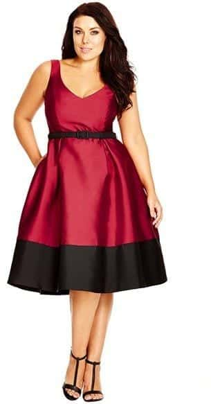 christmas-outfits-for-plus-size-women1 2017 Christmas Outfits for Plus size women - 23 Party Wear