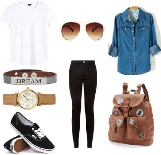 denim-shirts-for-women Outfits Men love on Women-These 20 Outfits Your Man Wants you to Wear