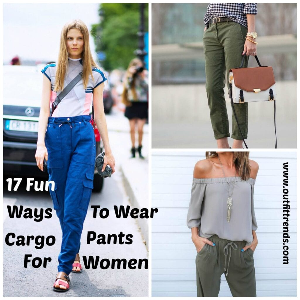 Cargo pants outfits for women (1)