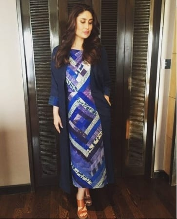 kareena-kapoor-patchwork-outfit Patchwork Outfits-21 Ways to Wear Patchwork Outfits this Year