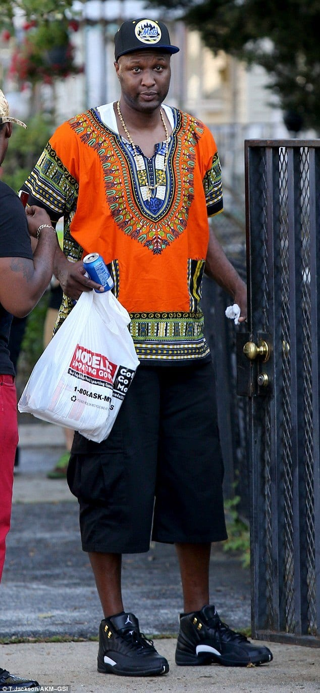 lamar-odom-casual-african-outfit 30 Casual Outfits Ideas For Black Men - African Men Fashion