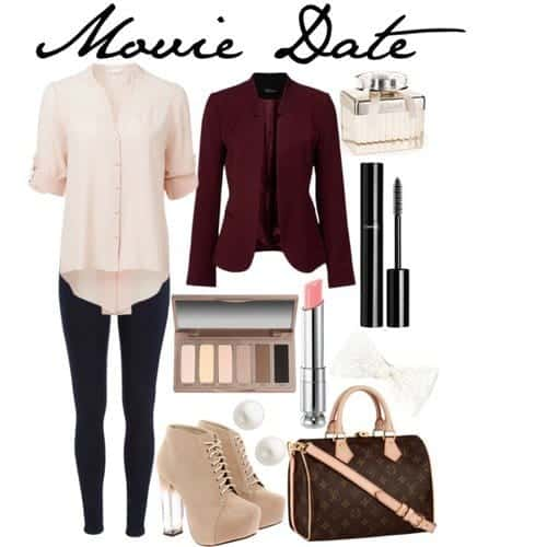 moviedate-putfits Movie Date Outfits - 20 Ideas how to Dress up for Movie Date