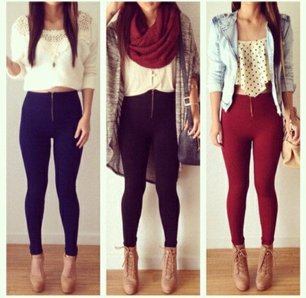 outfits-with-tights Outfits Men love on Women-These 20 Outfits Your Man Wants you to Wear