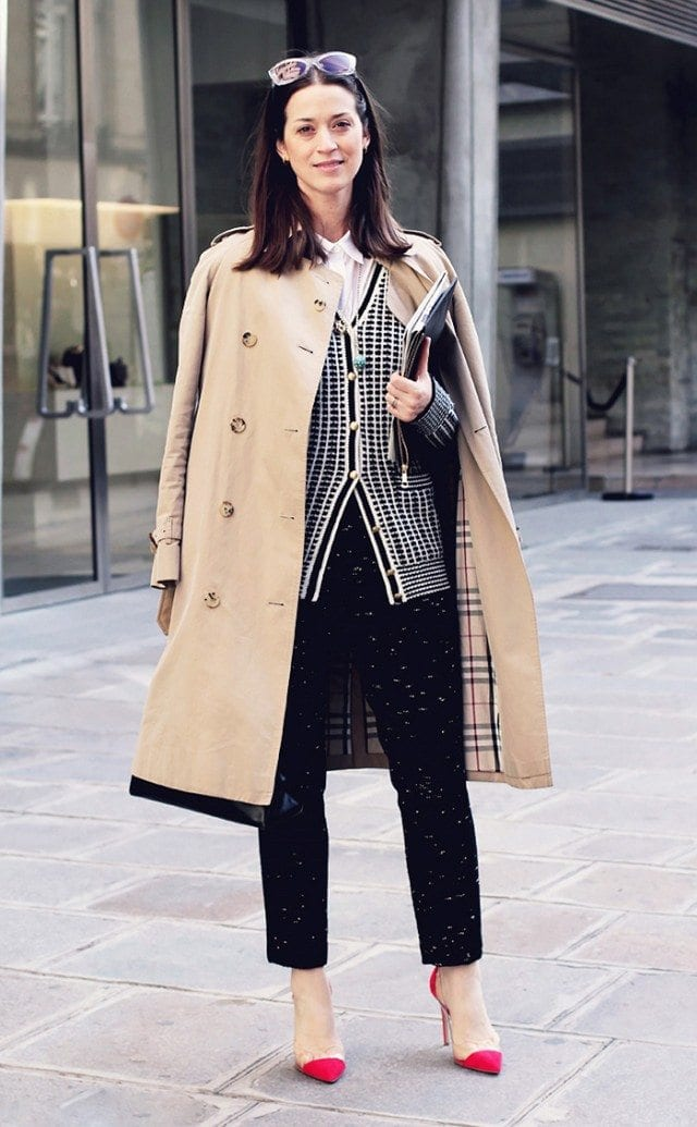 Trench Coat Outfits Women-19 Ways to Wear Trench Coats this Winter (13)