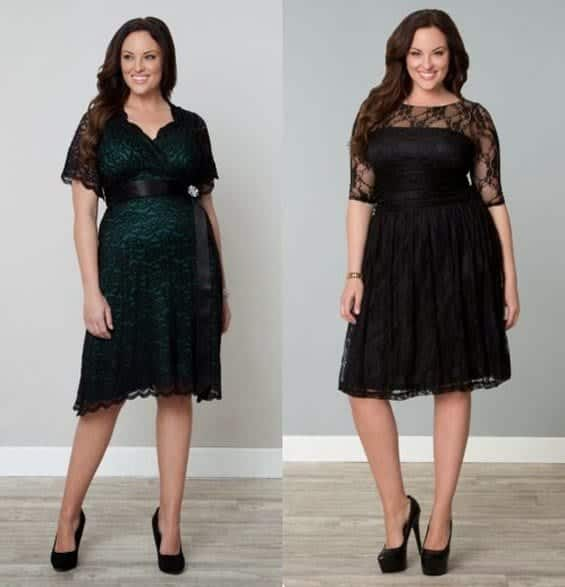 plus-size-christmas-dresses-18 2017 Christmas Outfits for Plus size women - 23 Party Wear
