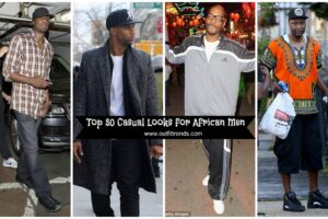 top casual outfits for black african men