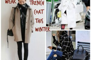 Trench Coat Outfits Women-19 Ways to Wear Trench Coats this Winter (6)