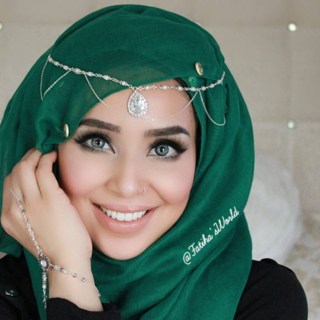 Maang Tikka With Hijab  Ways To Wear Hijab With Maatha