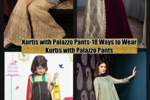 Kurtis With Palazzo Pants-18 Ways to Wear Palazzo with Kurtis