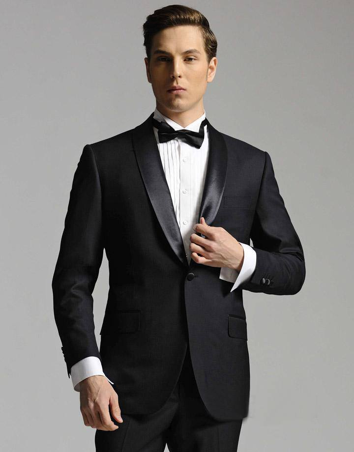 ... ? 15- Tuxedo-jacket or Satin Seam  sc 1 st  Outfit Trends & Semi-Formal Outfits For Guys-18 Best Semi Formal Attire Ideas