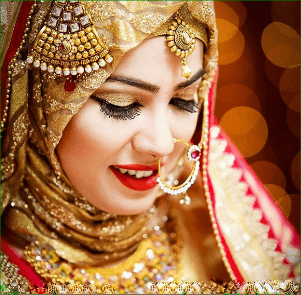 bride Maang Tikka With Hijab – 17 Ways To Wear Hijab With Maatha Patti