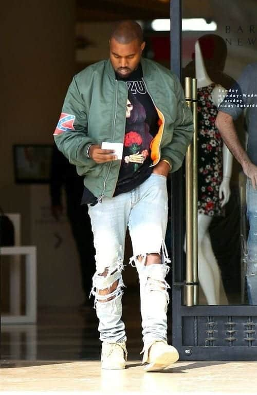 casual-men-bomber-jacket-with-tee How to Wear Bomber Jacket Men-18 Outfits with Bomber Jackets