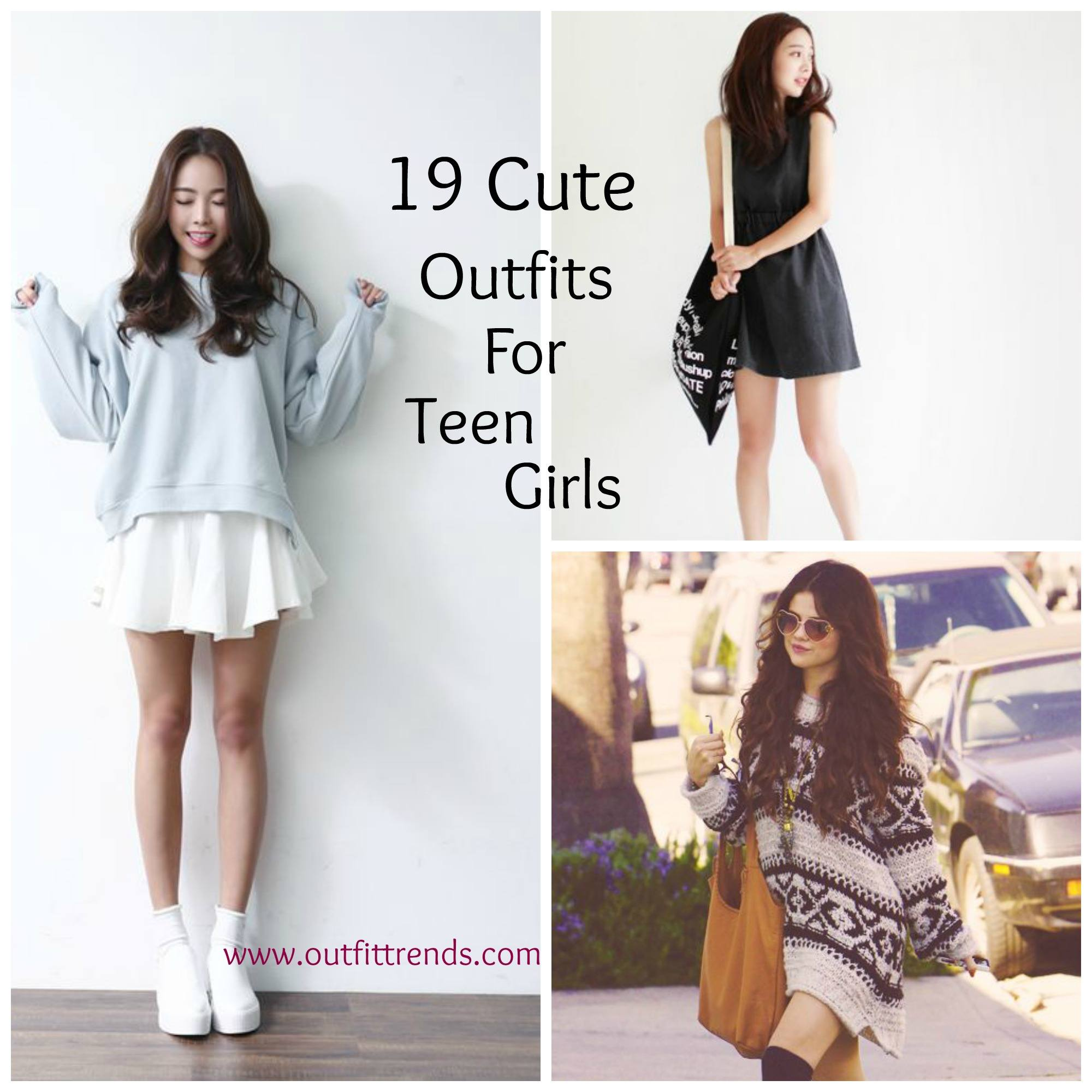 cuteteen-outfits-for-girls Casual Outfits for Teen girls-19 Cute Dresses for Casual Look