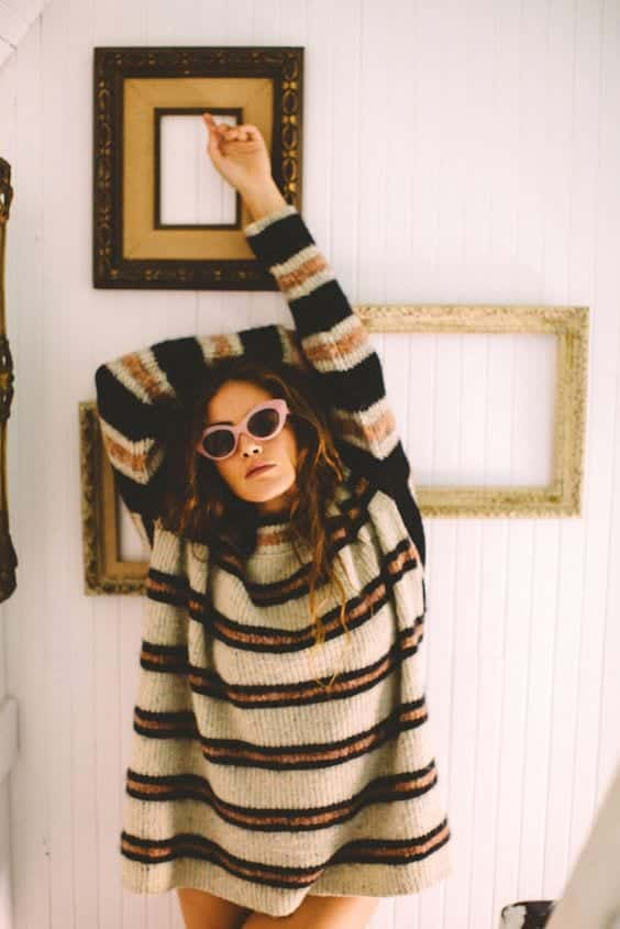 Outfits With Striped Sweater 23 Ways To Wear Sweaters With