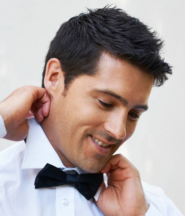 men-wedding-guest-hairstyle Casual Wedding Outfits for Men -18 Ideas What to Wear as Wedding Guest