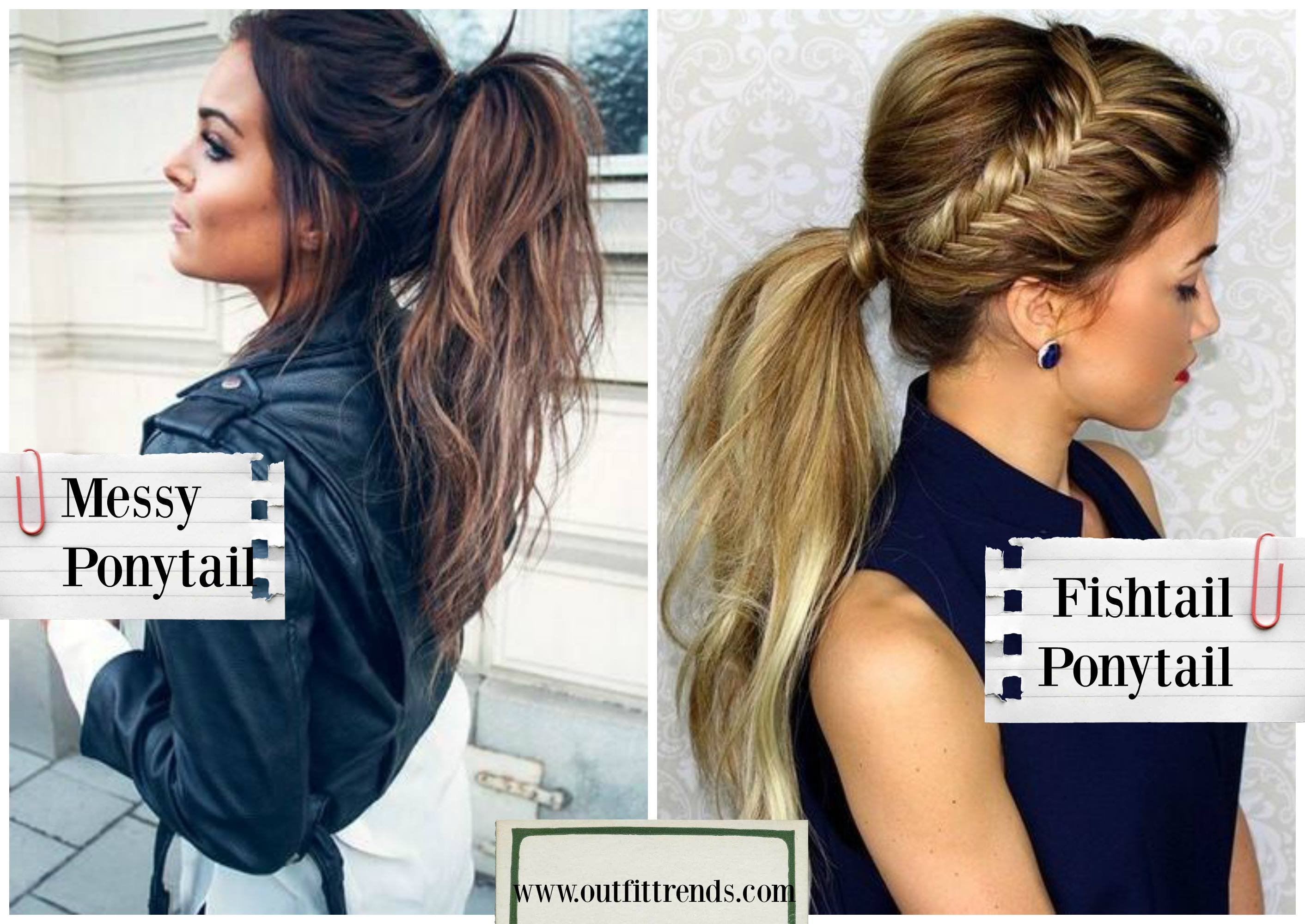 ponytail-hairstyles-for-movie-night-2 Movie Night Outfits- 20 Ways To Dress For The Movies For Girls