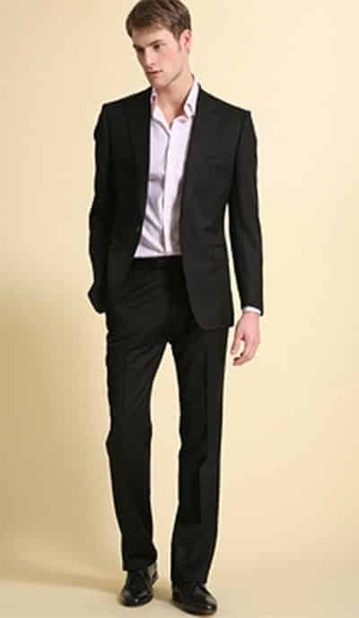 semiformal-suit Casual Wedding Outfits for Men -18 Ideas What to Wear as Wedding Guest