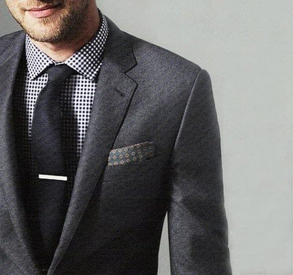 textured-suit-for-funky-look Casual Wedding Outfits for Men -18 Ideas What to Wear as Wedding Guest