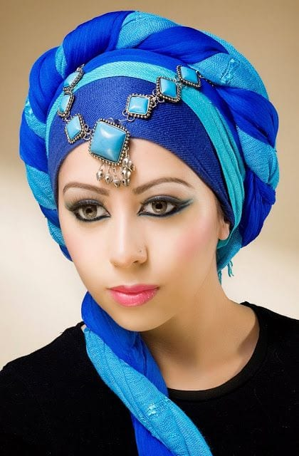 turban Maang Tikka With Hijab – 17 Ways To Wear Hijab With Maatha Patti