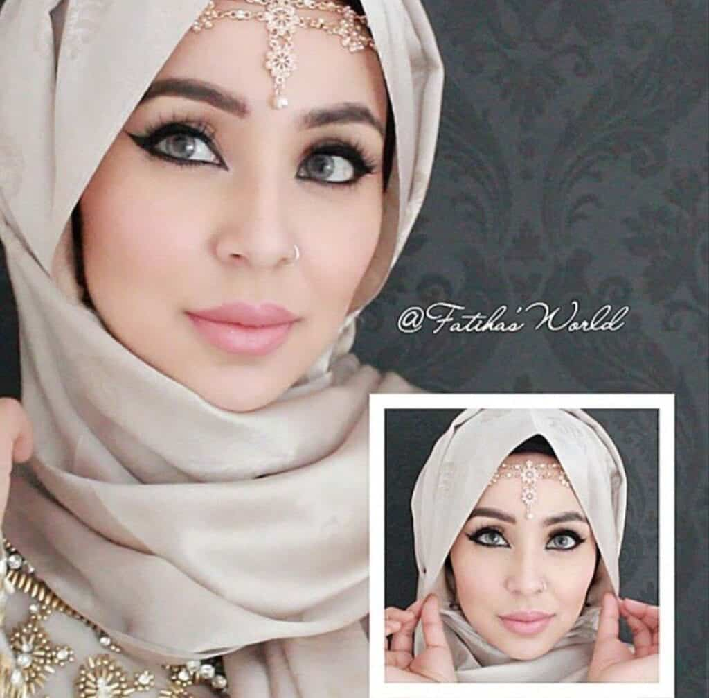 turkish-1024x1007 Maang Tikka With Hijab – 17 Ways To Wear Hijab With Maatha Patti