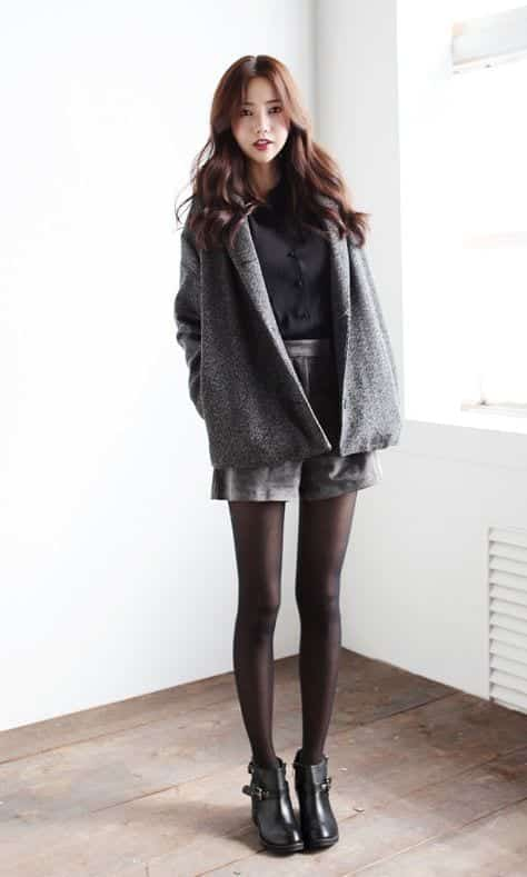 woolen-coat-for-winters Casual Outfits for Teen girls-19 Cute Dresses for Casual Look