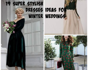 19 outfit ideas for winter weddings