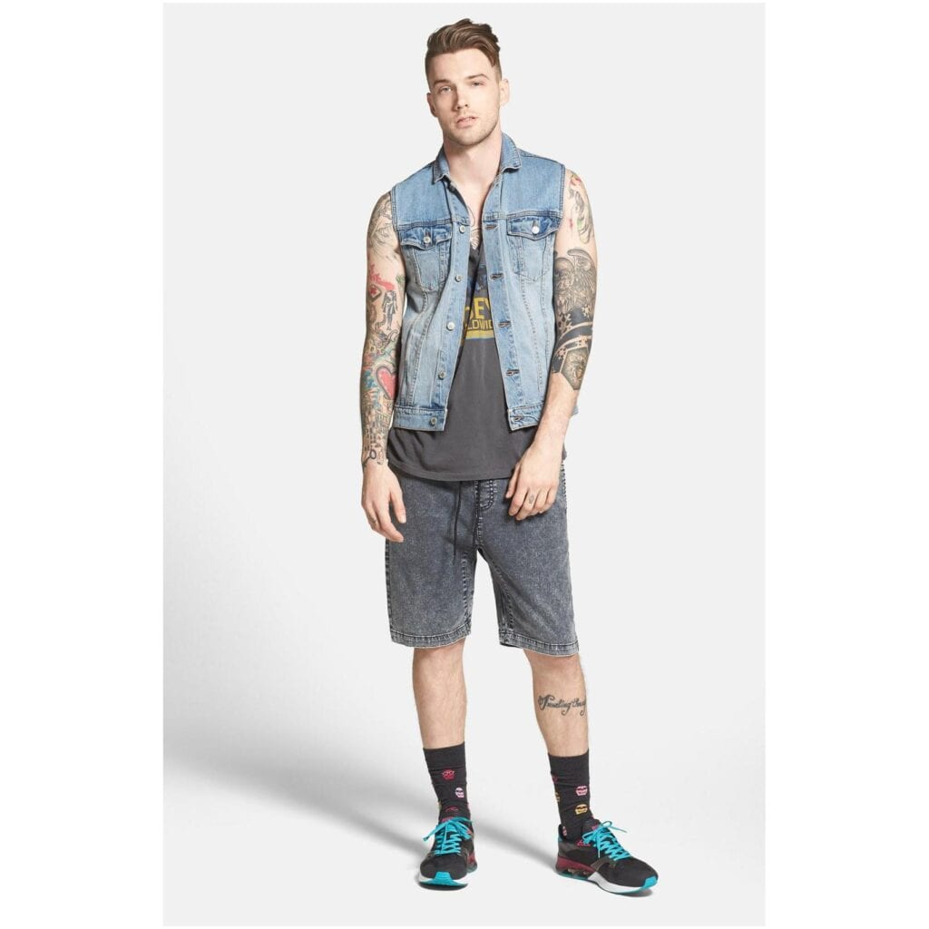 687-Cheap-Monday-Men-s-Denim-Vest-4-1024x1024 Denim Jackets Outfits For Men – 17 Ways To Wear Denim Jacket