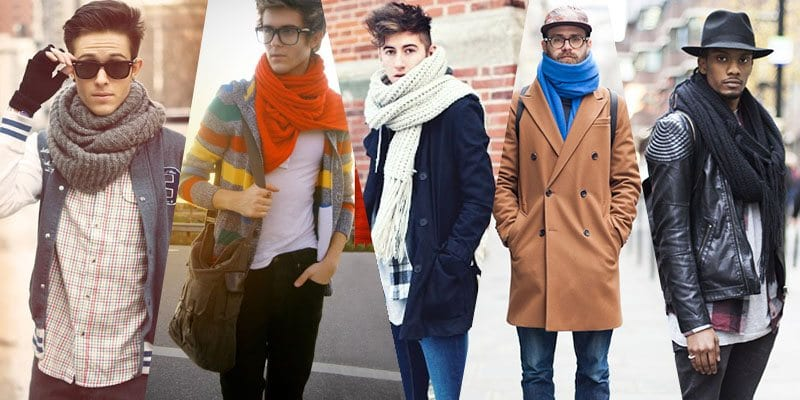 Scarves-with-All-Outwear-Jackets Men Scarves Fashion - 18 Tips How to Wear Scarves for Guys