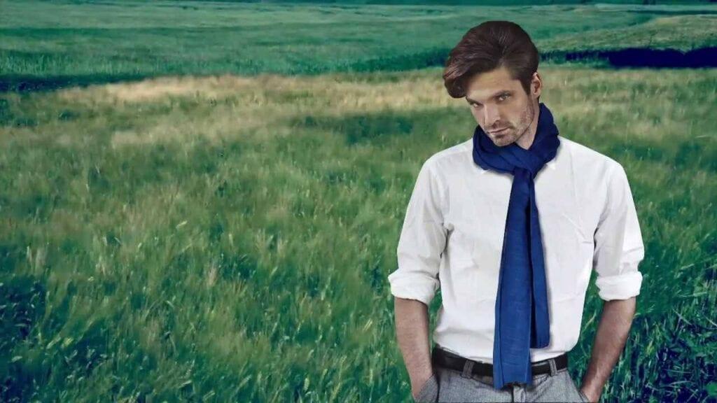 Summer-Scarves-for-men-1024x576 Men Scarves Fashion - 18 Tips How to Wear Scarves for Guys