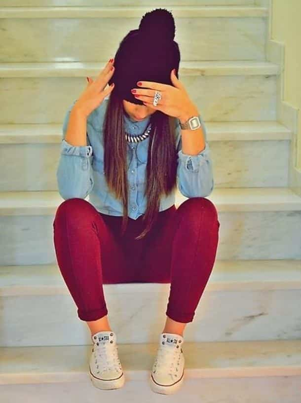 colorful-pants Dope Outfits for Girls-24 Cute Dope Fashion Ideas to Check Now