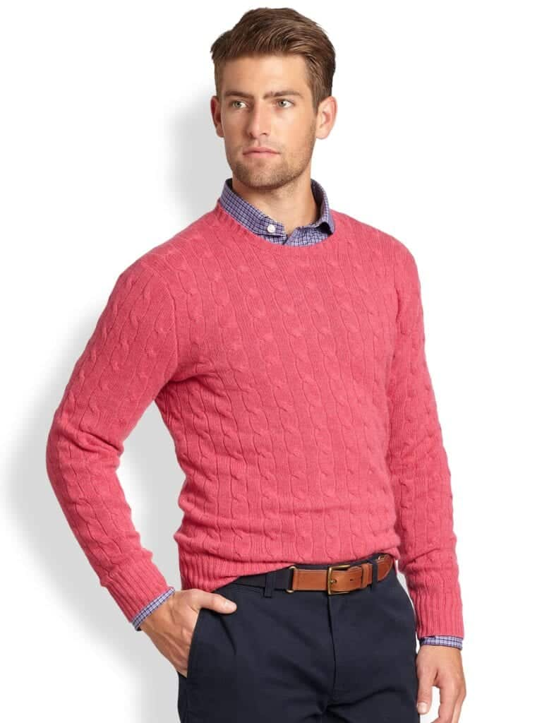 crew-1-768x1024 Sweater outfits for men – 17 Ways to Wear Sweaters Fashionably