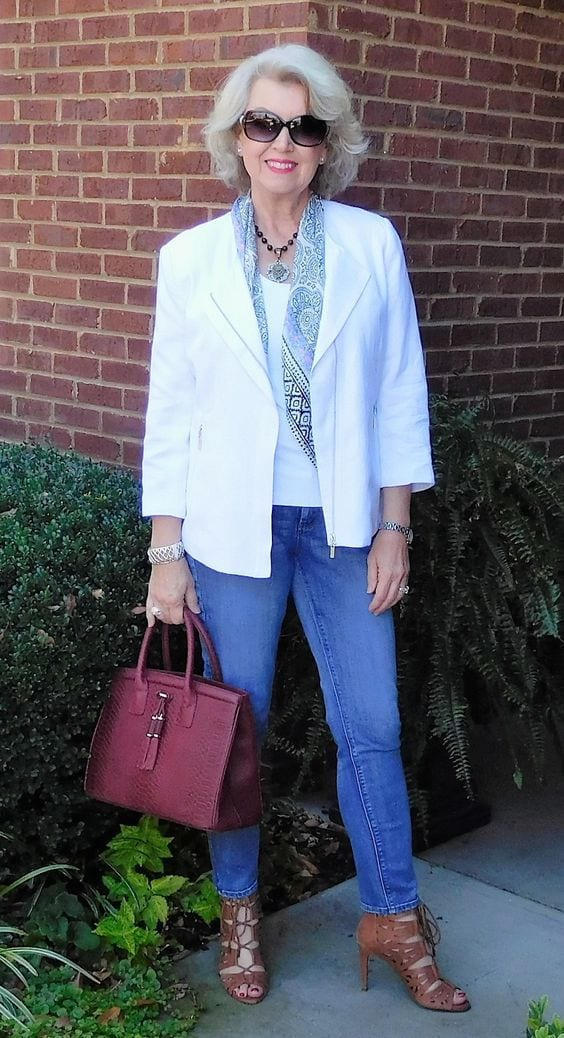 Older Women Can Wear Trendy Clothing