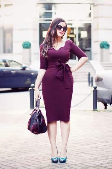 dresses-for-plus-size-women Outfits for Winter Wedding - 19 Best Winter Dresses for Wedding