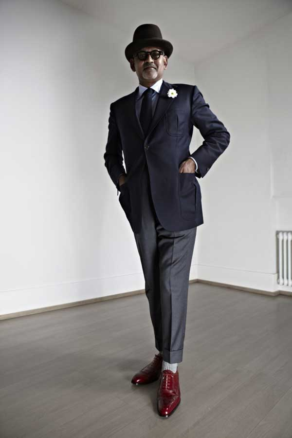 formal-suit-with-red-shoes Red Shoes Outfits For Men-18 Ways to Wear Red Shoes for Guys