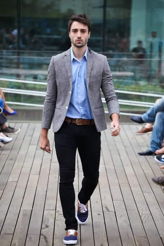 going-to-office-in-vans Men Outfits with Vans-20 Fashionable Ways to Wear Vans Shoes