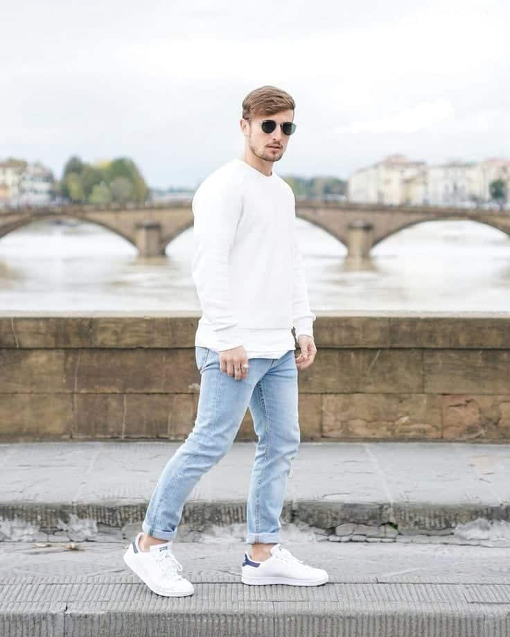 Men's Outfit with White Shoes (1)