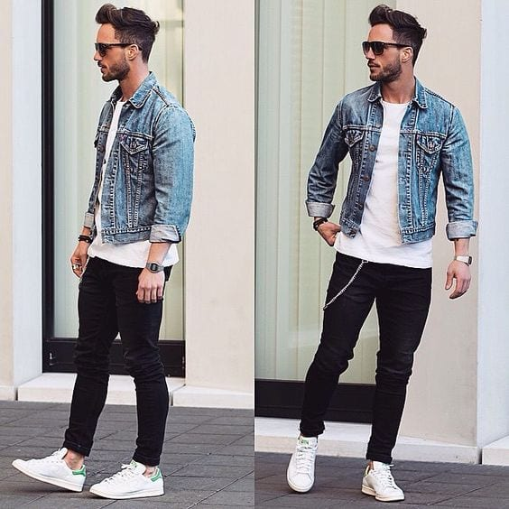 Men's Outfit with white shoe