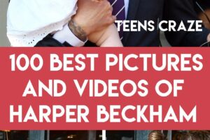 harper beckham latest pictures and videos